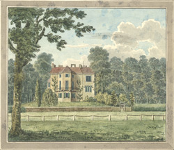 Mrs Clive's house near Strawberry Hill, Twickenham